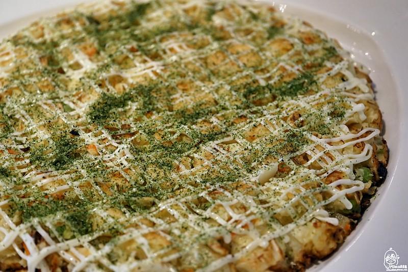 鮮蔬大阪燒(蛋奶素)