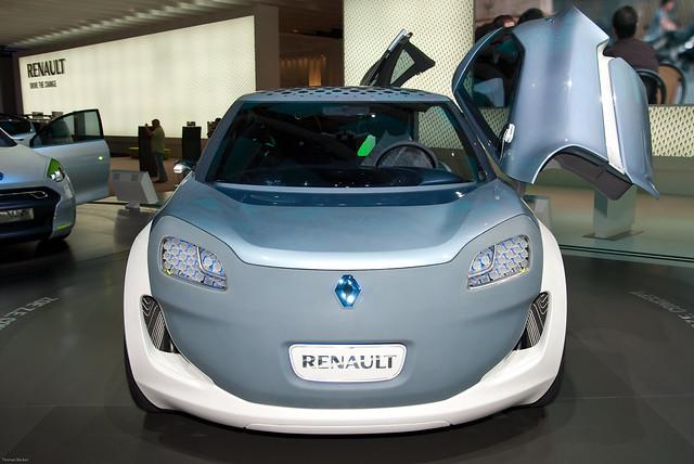 2009 Renault Zoe Ze Concept. Renault Zoe Z.E. Concept