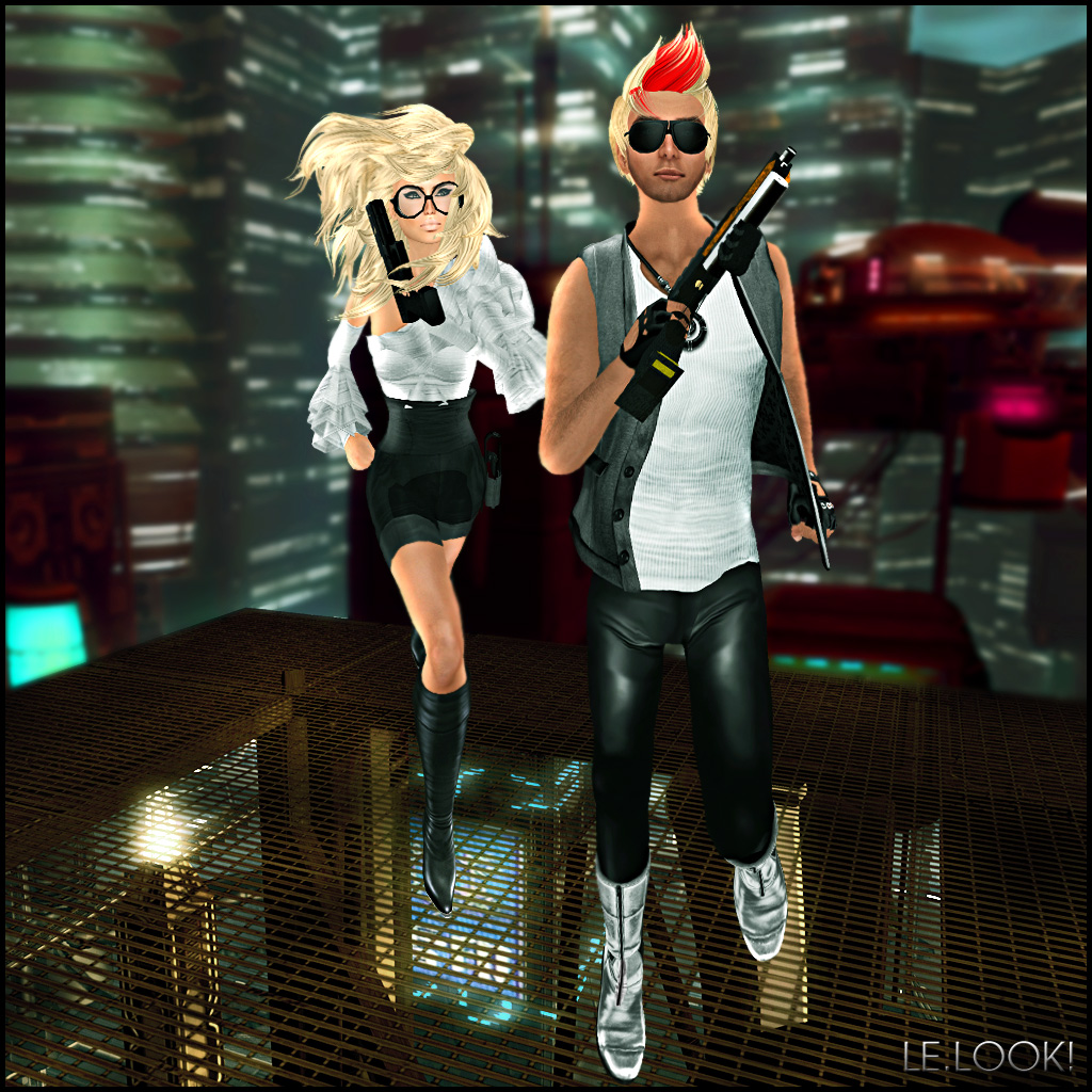 October Week 2 - Fashion & Style - James Schwarz and Autumn Ashdene