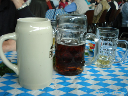 One liter Beer Glass