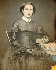Big Eyed Beauty (Mirror Image Gallery) Tags: bigeyes victorian daguerreotype fulllips beuaty lacegloves