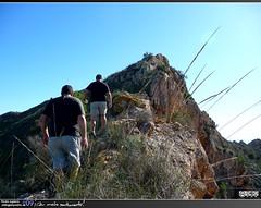 Subiendo (Pedro Agera) Tags: ruta minas playa sierra sancristobal monte montaa cartagena senderismo escalada sendero campillo mazarron bolnuevo moreras percheles laazohia sierradelasmoreras