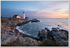 curse of the GPS (moe chen) Tags: ocean park light lighthouse sunrise portland dawn bravo rocks surf elizabeth williams state fort head maine sigma atlantic moe cape 1020mm phl chen moe76