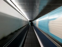 Metropolitan Way to Hell? (ancingelta) Tags: street people italy rome roma stairs canon subway october italia metro 2009 metropolitan