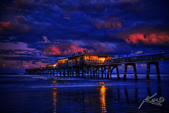 Fishing Pier Daytona Florida 2/3