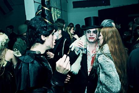 Disco Mystix Halloween Party