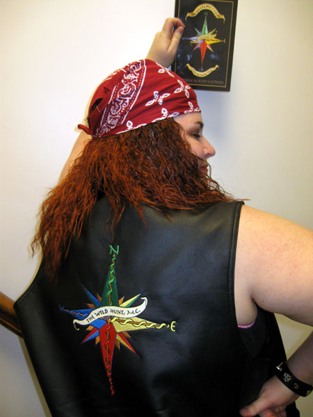 Embroidered Vest - Back (Click to enlarge)