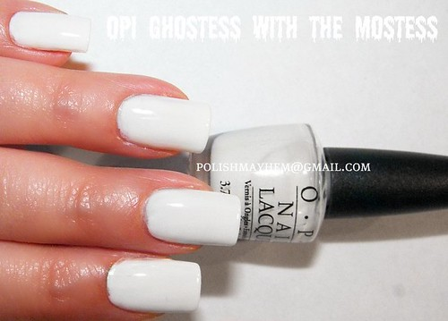 OPI Ghostess With the Mostess