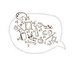 iconos trama arte (ladyco) Tags: nuria ilustraciones