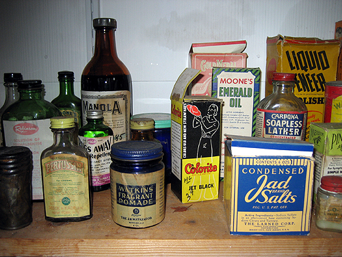 Various ancient products