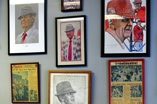 BEAR BRYANT SHRINE