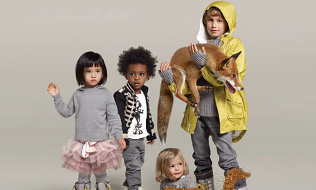 Stella McCartneys fashion range for Gap Kids.