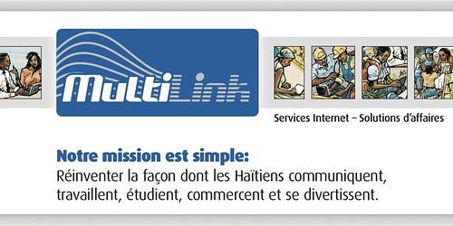 Multilink Haďti: Services Internet - Solutions d'affaires