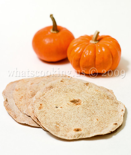 Pumpkin Flour Tortillas