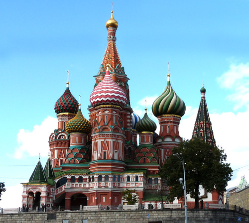 Moscow St Basil's Cathedral 02