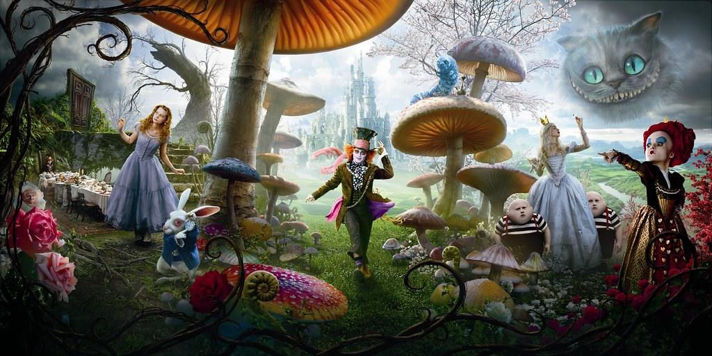 Alice im Wunderland (2010)   Live Action [Archiv] - Comicforum ...