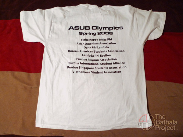 ASUB shirt 2006 (back)