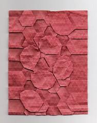 Tessellated Moth (Yureiko) Tags: butterfly paper origami moth papillon mariposa papier tessellation paperfolding motte elephanthide papierfalten elefantenhaut yureiko