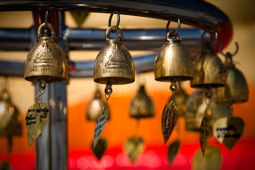 Bells in Wat Saket