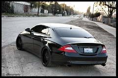 Mercedes CLS Back (I-L Photography) Tags: lights mercedes tail wheels tint exhaust cls