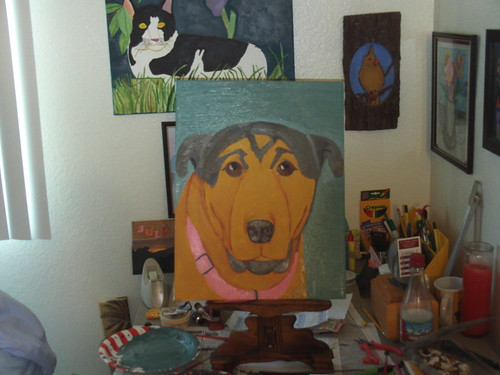 Buster: The Completed Painting
