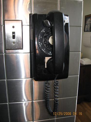 Original 1950s phone by Curtin1.
