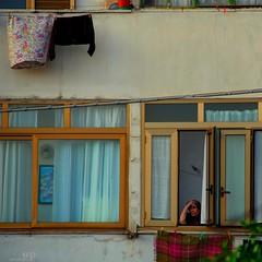 Loneliness (Osvaldo_Zoom) Tags: life italy woman window nikon solitude loneliness empty elder unwanted lonely calabria unnecessary malattia d80
