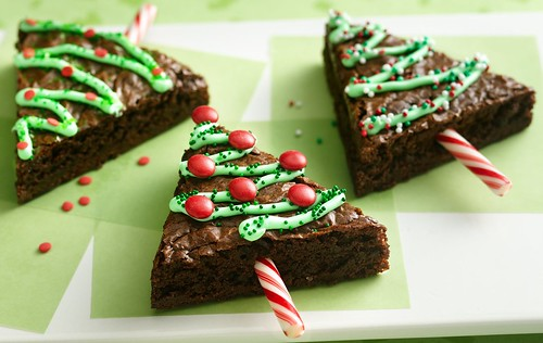 Holiday Tree Brownies Recipe