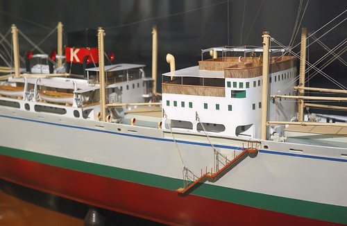City Museum, in Saint Louis, Missouri, USA - ship model