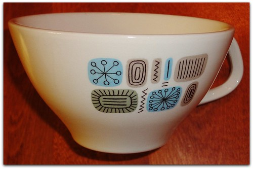 VINTAGE 50'S CANNONSBURG POTTERY TEMPORAMA