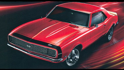1360x768 wallpaper. 1968 Camaro SS 572 1360x768