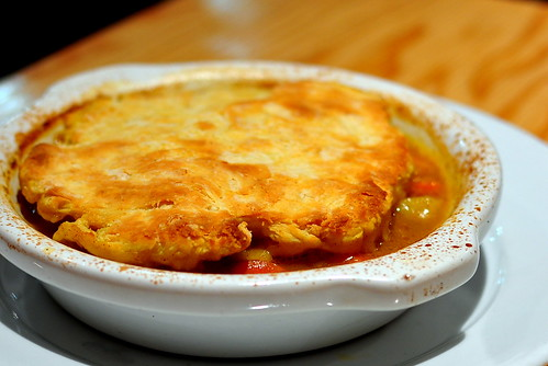 CHAYOTE POT PIE