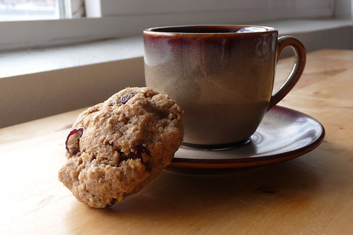 Cranberry, Oatmeal & Walnut Cookies