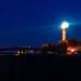 Pointe Saint Mathieu, de nuit