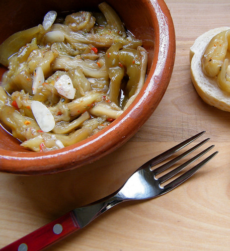 Pickled Eggplant | Berenjenas en Escabeche by katiemetz, on Flickr