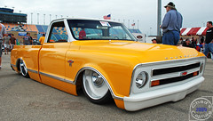 1968 Chevy C-10 (Chad Horwedel) Tags: classic chevrolet yellow truck illinois pickup chevy joliet c10 chevyc10 goodguyscarshow 1968chevyc10