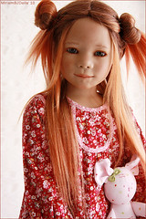 Marthy in red (MiriamBJDolls) Tags: 2005 doll vinyl limitededition marthy annettehimstedt himstedtkinder