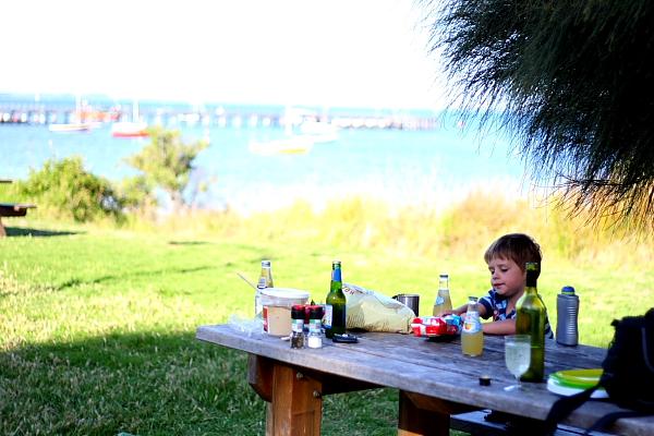 Dinner at Flinders