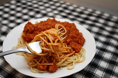 pork bolognese (adashofsass) Tags: red italian sauce pasta spaghetti