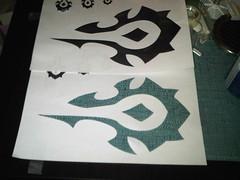 Horde symbol cutout