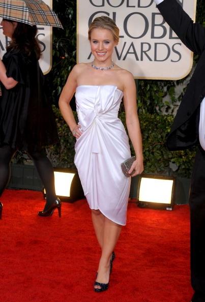 Golden Globes 2010 Kristin Bell