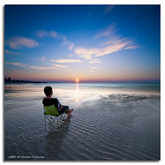 Better than TV (DanielKHC) Tags: blue light sunset beach clouds digital interestingness high sand nikon long exposure dubai dynamic uae 7 explore ripples range fp frontpage dri hdr gettyimages blending d300 nd400 danielkhc vertorama tokina1116mmf28 gettyimagesmeandafrica1