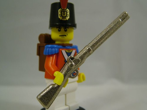 BrickArms custom minifig Musket Prototype