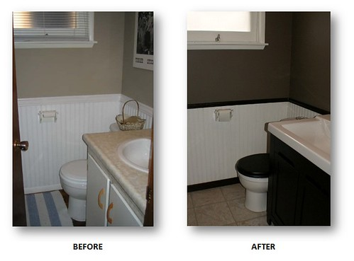 Bathroom Reno - Before and After
