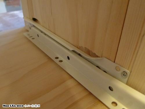 木工 床邊櫃-15