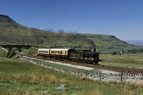 Maude at Ais Gill (geoffspages) Tags: geotagged railway steam maude nbr uksteam aisgill geo:lat=54366483 geo:lon=2347931