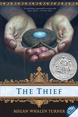 4342177972 dd025d8b2f m Top 100 Childrens Novels #13: The Thief by Megan Whalen Turner