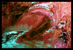 turbulent water flow abstract (octopus minor) Tags: pink abstract water flow florida h2o springs floyd wakulla meedle