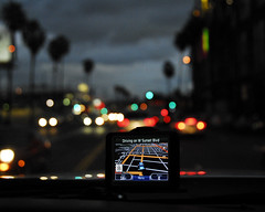 GPS (ericneitzel) Tags: trees sunset lights la nikon eric driving traffic bokeh map circles palm directions driver gps nikkor blvd sunsetblvd neitzel ericneitzel etneitzel ericneitzel ericthomasneitzel ericthomasneitzelphotography ericthomasneitzel erictneitzel