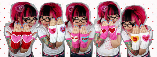 Vday Mitts Collage